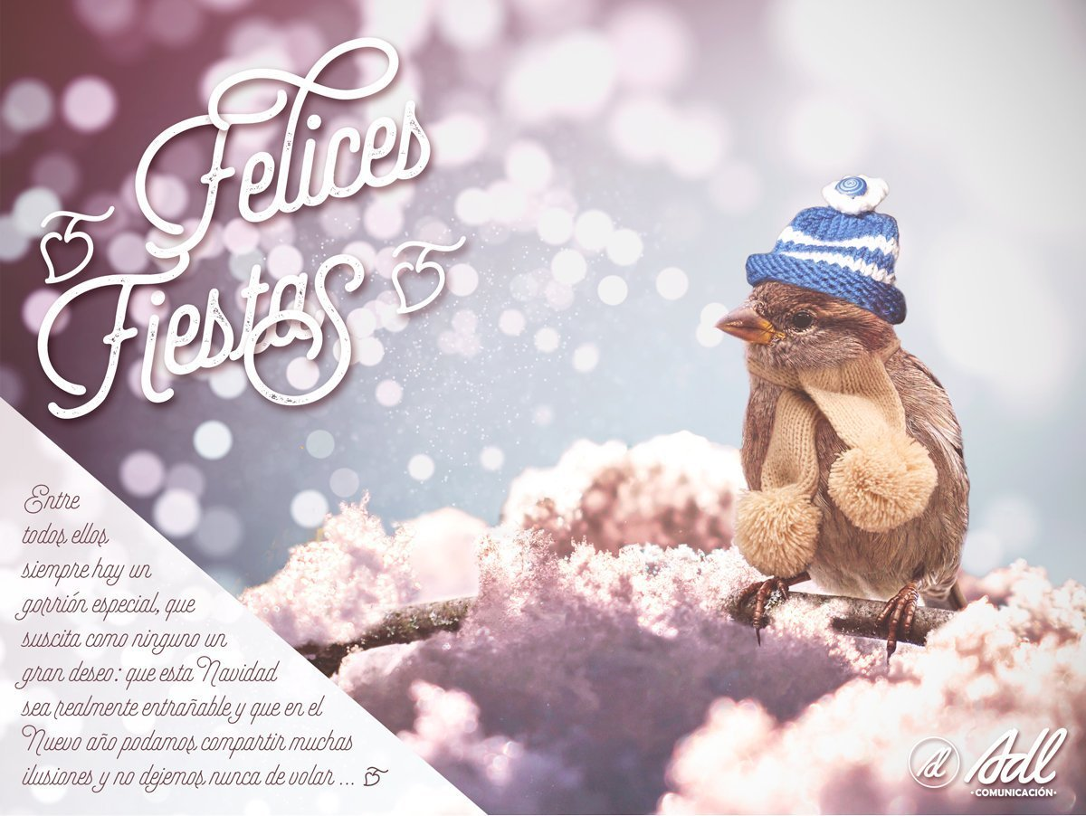 Felicitación navideña Adl Comunicación Marketing Promocional