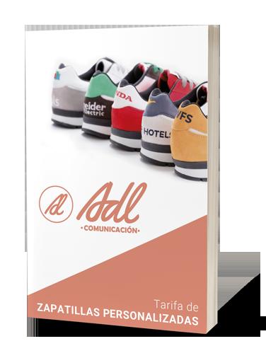 Tarifa Zapatillas Personalizadas 2019