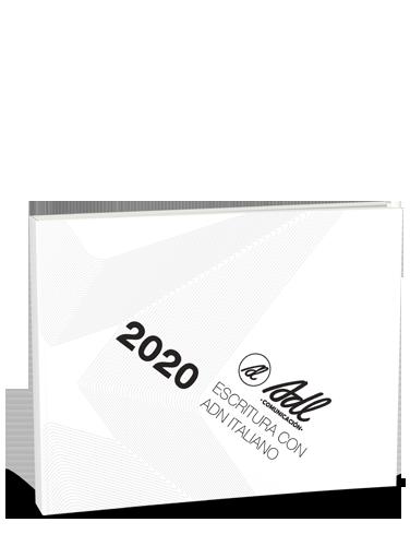 Catálogo Escritura Italiana 2020